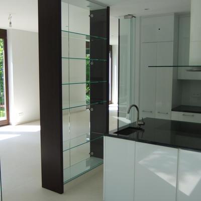 Küchen mit Verglasung